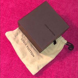 Louis Vuitton dust bag & belt box